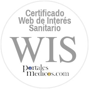 Certificado Web de interés sanitario WIS de Portal Médicos